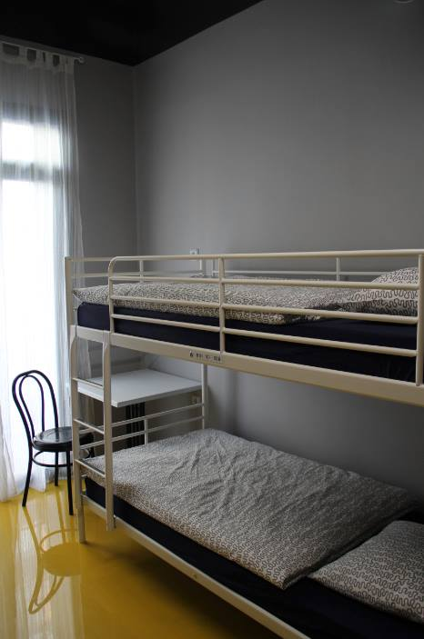 Clean rooms and comfortable mattress in Sleep Green ECO youth hostel in Barcelona Spain