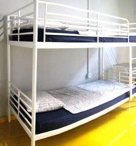 Sleep Green ECO youth hostel in Barcelona Spain, clean rooms, new and comfortable mattresses