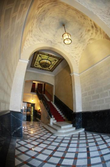 Alternative Creative Youth Home hostel in Barcelona beautiful heritage building